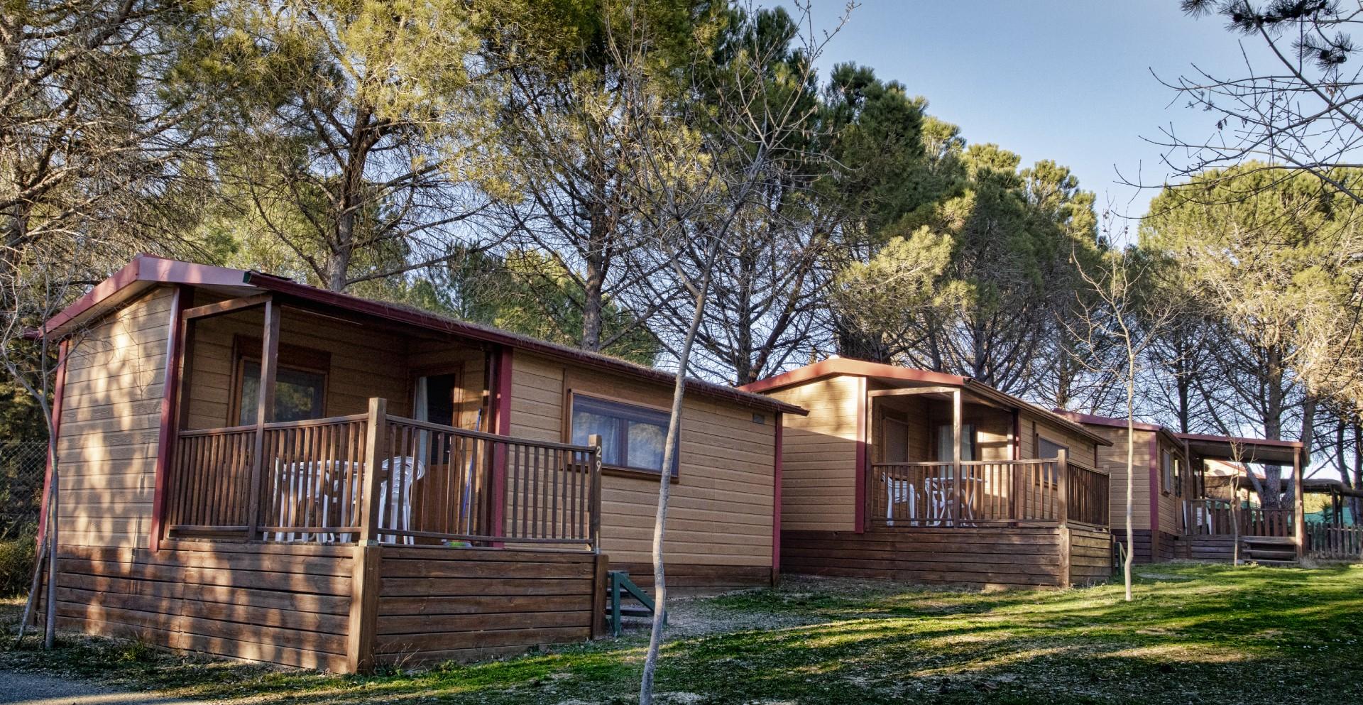Descubre los bungalows de camping Bolaso Zaragoza